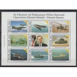 Palau - 1991 - No 422/430 - Histoire militaire