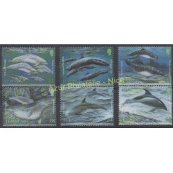 Jersey - 2000 - Nb 937/942 - Fishes