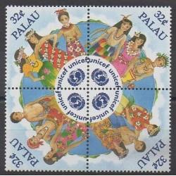 Palau - 1996 - No 878/881 - Enfance