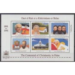 Palau - 1991 - No 396/401 - Religion