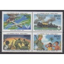 Palau - 1990 - No 361/364 - Seconde Guerre Mondiale