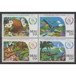 Palau - 1986 - Nb 137/140