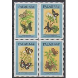 Palau - 1987 - No 150/153 - Insectes