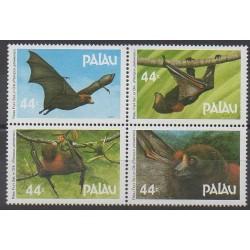 Palau - 1987 - No 154/157 - Mammifères