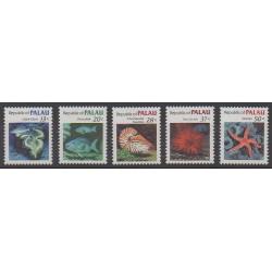 Palau - 1984 - No 42/46 - Animaux marins