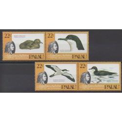 Palau - 1985 - No 61/64 - Oiseaux
