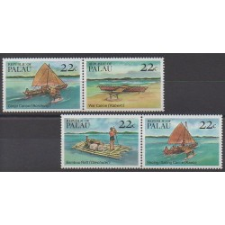 Palau - 1985 - Nb 65/68 - Boats