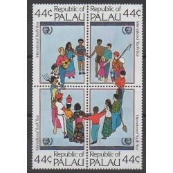 Palau - 1985 - No 75/78 - Enfance