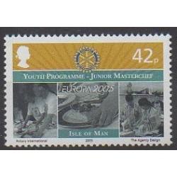 Man (Ile de) - 2005 - No 1246 - Enfance - Rotary ou Lions club - Europa