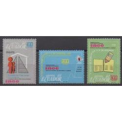 Équateur - 1990 - No 1206/1208