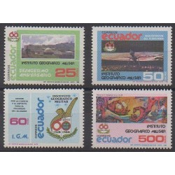 Équateur - 1988 - No 1154/1157