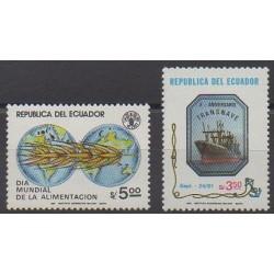 Équateur - 1982 - No 1018/1019