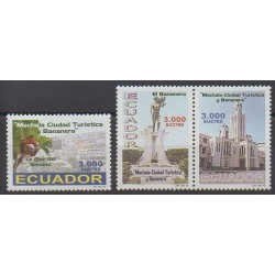 Équateur - 1999 - No 1475/1477 - Tourisme