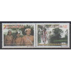 Équateur - 2002 - No 1673/1674