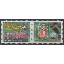 Ecuador - 2002 - Nb 1669/1670 - Football