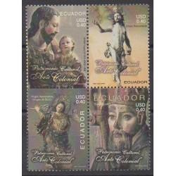 Ecuador - 2005 - Nb 1877/1880 - Religion