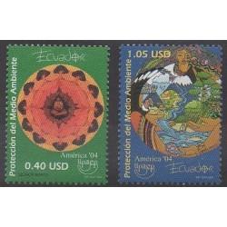 Ecuador - 2004 - Nb 1806/1807 - Environment