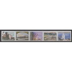 Ecuador - 2000 - Nb 1486/1490 - Monuments