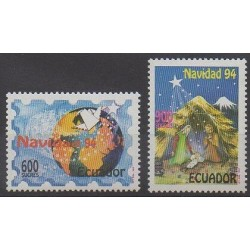 Ecuador - 1994 - Nb 1314/1315 - Christmas
