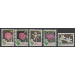 Ecuador - 1990 - Nb 1216/1219 - 1216a - Flowers