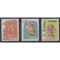 Ecuador - 1991 - Nb 1228/1230 - Art