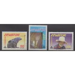 Équateur - 1990 - No 1209/1211 - Tourisme