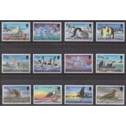 British Antarctic Territory - 1998 - Nb 290/301 - Birds
