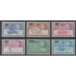 Grande-Bretagne - Territoire antarctique - 1971 - No 25/30 - Polaire