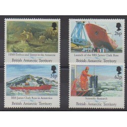 British Antarctic Territory - 1991 - Nb 205/208 - Science