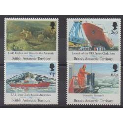 Grande-Bretagne - Territoire antarctique - 1991 - No 205/208 - Sciences et Techniques