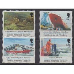Grande-Bretagne - Territoire antarctique - 1991 - No 209/212 - Sciences et Techniques