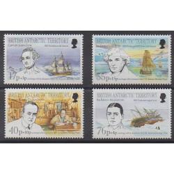 Grande-Bretagne - Territoire antarctique - 1994 - No 251/254 - Navigation