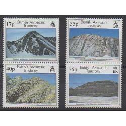 Grande-Bretagne - Territoire antarctique - 1995 - No 261/264 - Polaire