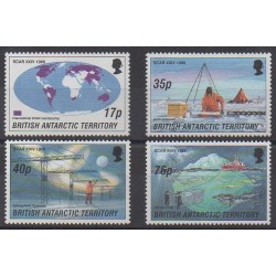 British Antarctic Territory - 1996 - Nb 265/268 - Polar - Science