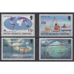 Grande-Bretagne - Territoire antarctique - 1996 - No 265/268 - Polaire - Sciences et Techniques