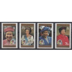 British Antarctic Territory - 1996 - Nb 269/272 - Royalty