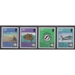Grande-Bretagne - Territoire antarctique - 1991 - No 201/204 - Polaire