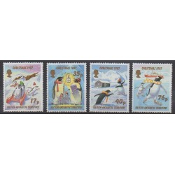 British Antarctic Territory - 1997 - Nb 277/280 - Christmas