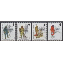 Grande-Bretagne - Territoire antarctique - 1998 - No 286/289 - Polaire