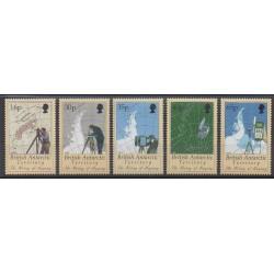 Grande-Bretagne - Territoire antarctique - 1998 - No 281/285 - Polaire