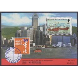 Grande-Bretagne - Territoire antarctique - 1997 - No BF4 - Navigation - Philatélie