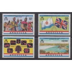 Anguilla - 1983 - No 478/481 - Histoire