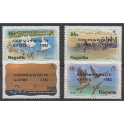 Anguilla - 1982 - No 465/468 - Sports divers