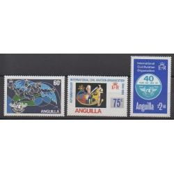 Anguilla - 1984 - Nb 575/577 - Planes