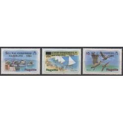 Anguilla - 1984 - No 558/560 - Service postal