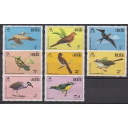 Anguilla - 1985 - No 606/613 - Oiseaux