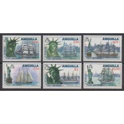 Anguilla - 1985 - No 622/627 - Navigation - Monuments