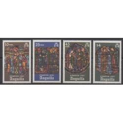 Anguilla - 1986 - No 633/636 - Pâques