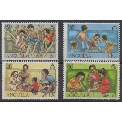 Anguilla - 1981 - No 412/415 - Enfance
