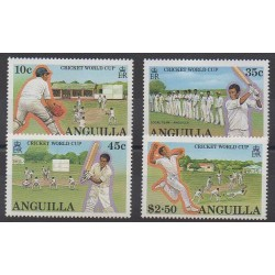 Anguilla - 1987 - Nb 698/701 - Various sports